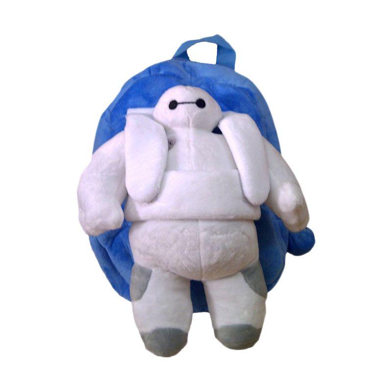 TMO Baymax With Doll Biru Putih Tas Boneka