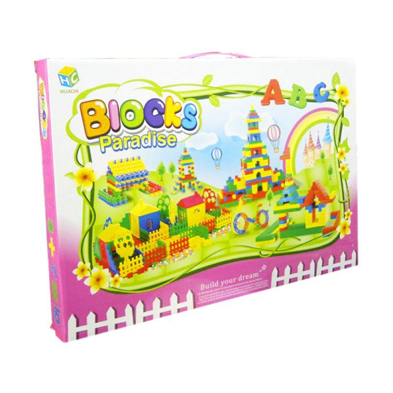 TMO Block Paradise HC049F Hijau Mainan Blok & Puzzle