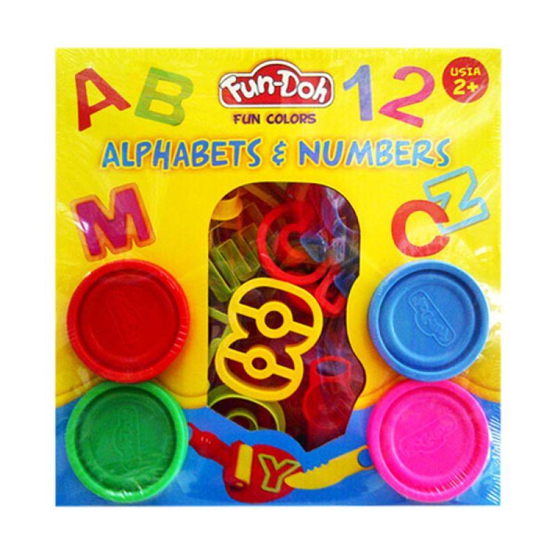TMO Dough Alphabet Number Box Mainan Anak