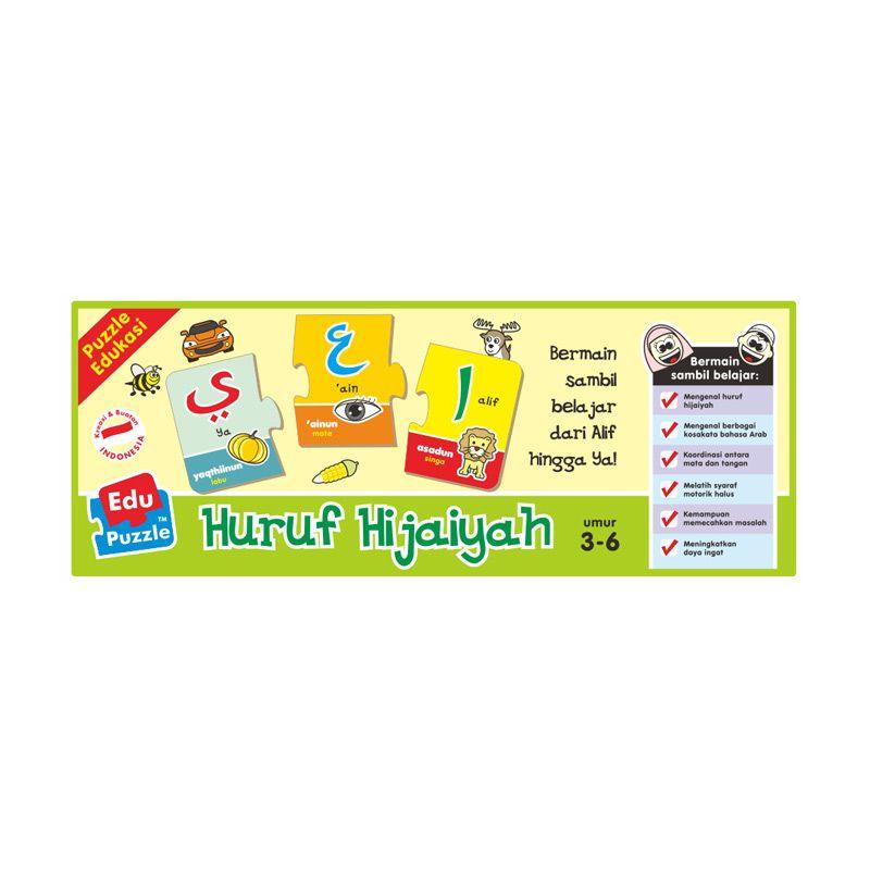 TMO Edu Hijaiyah Mainan Blok & Puzzle