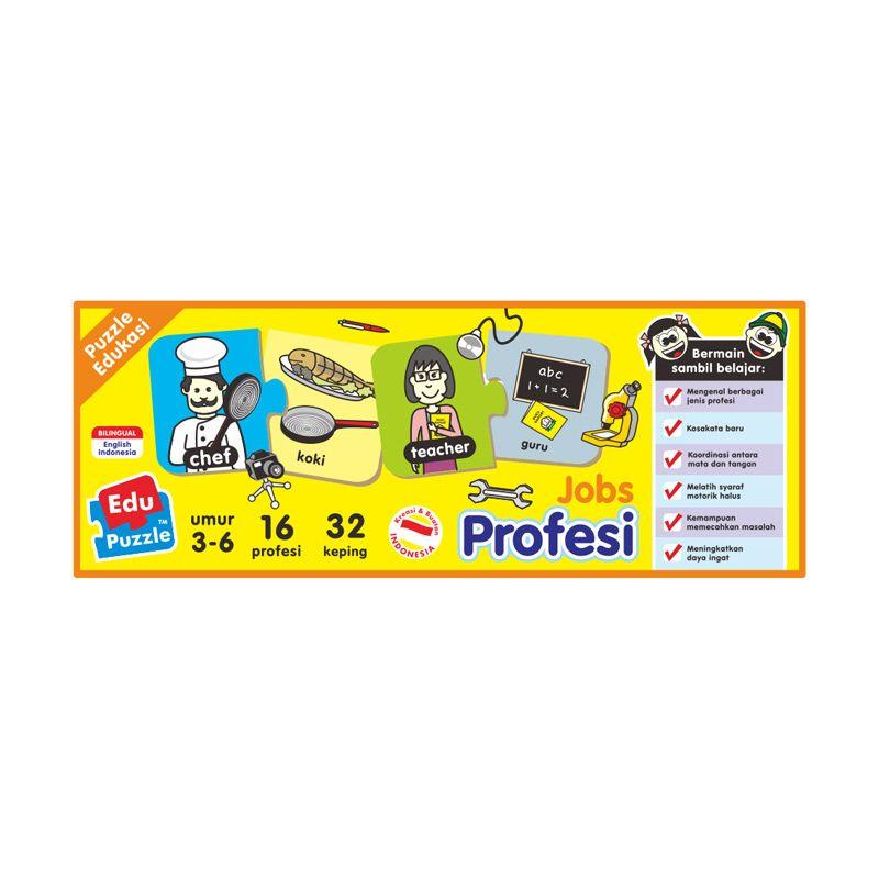 TMO Edu Profesi or Jobs Mainan Blok & Puzzle