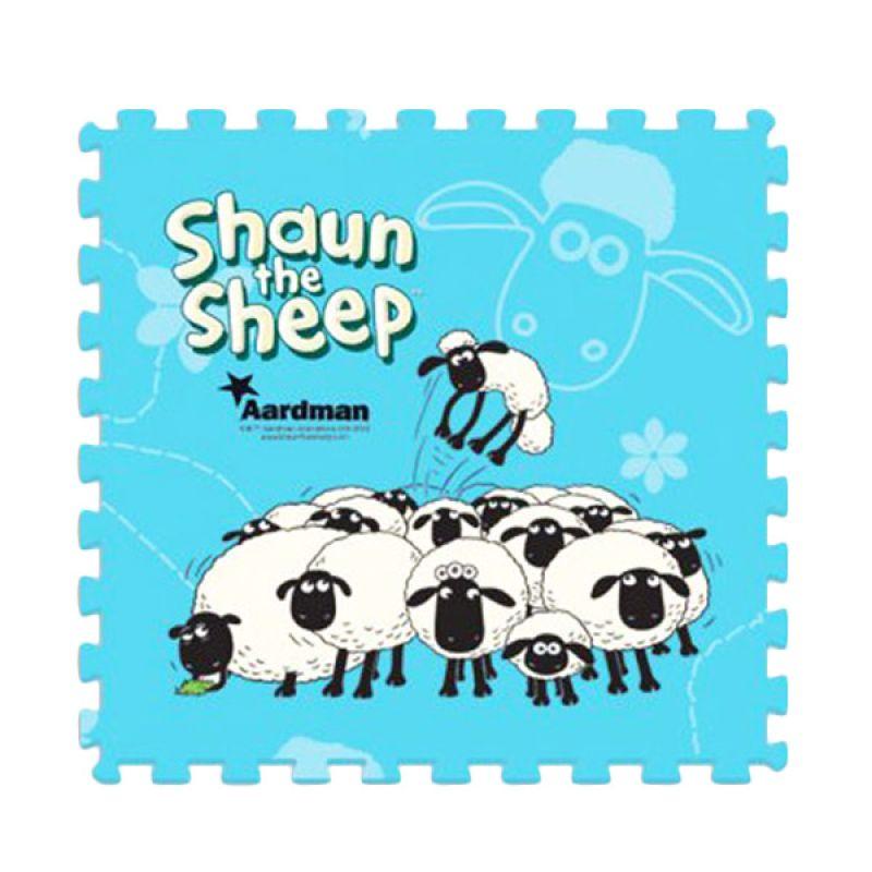TMO Evamat Shaun The Sheep Biru Mainan Anak