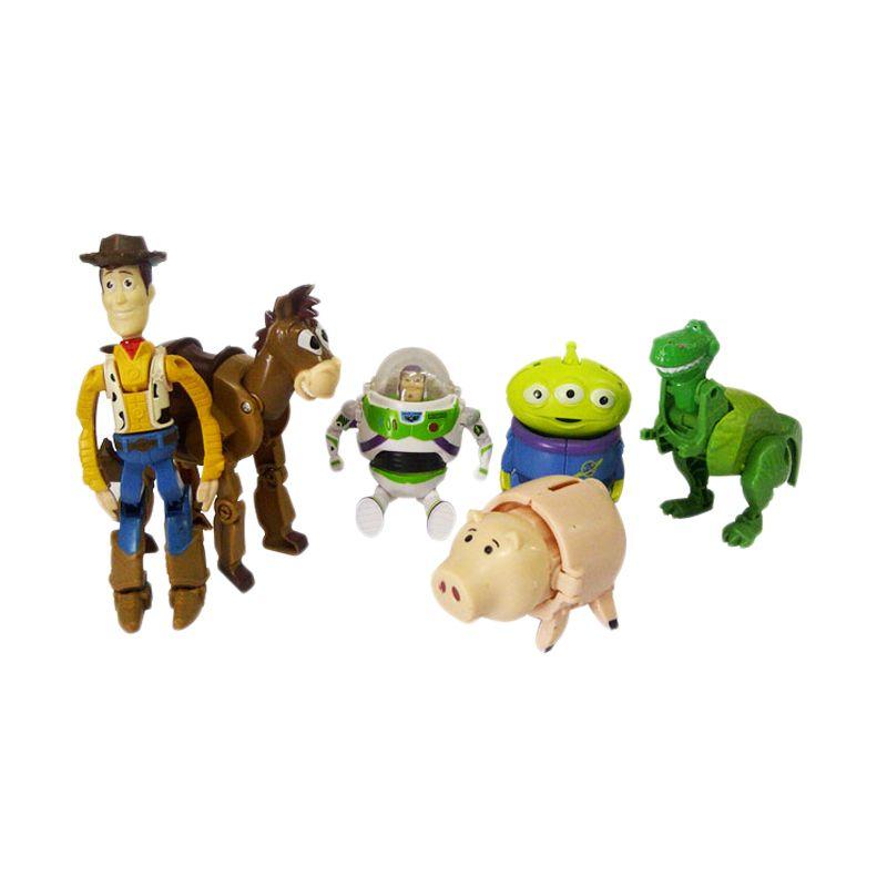 TMO Figurine Toy Story Mainan Anak [6 Pcs]