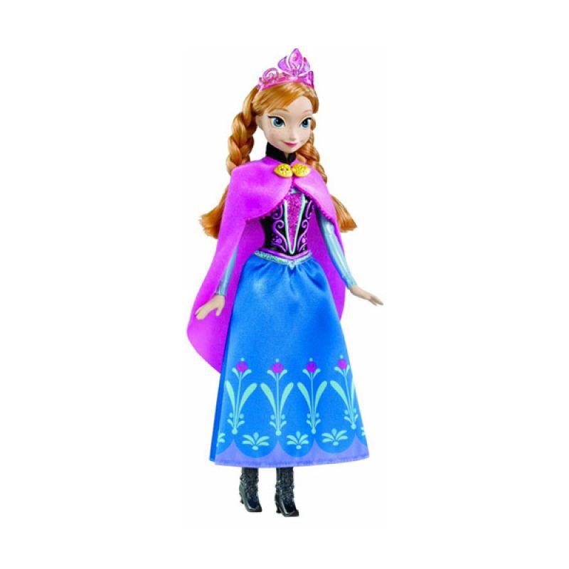 TMO Frozen Doll Anna Of Arendelle Mattel Biru Mainan Anak