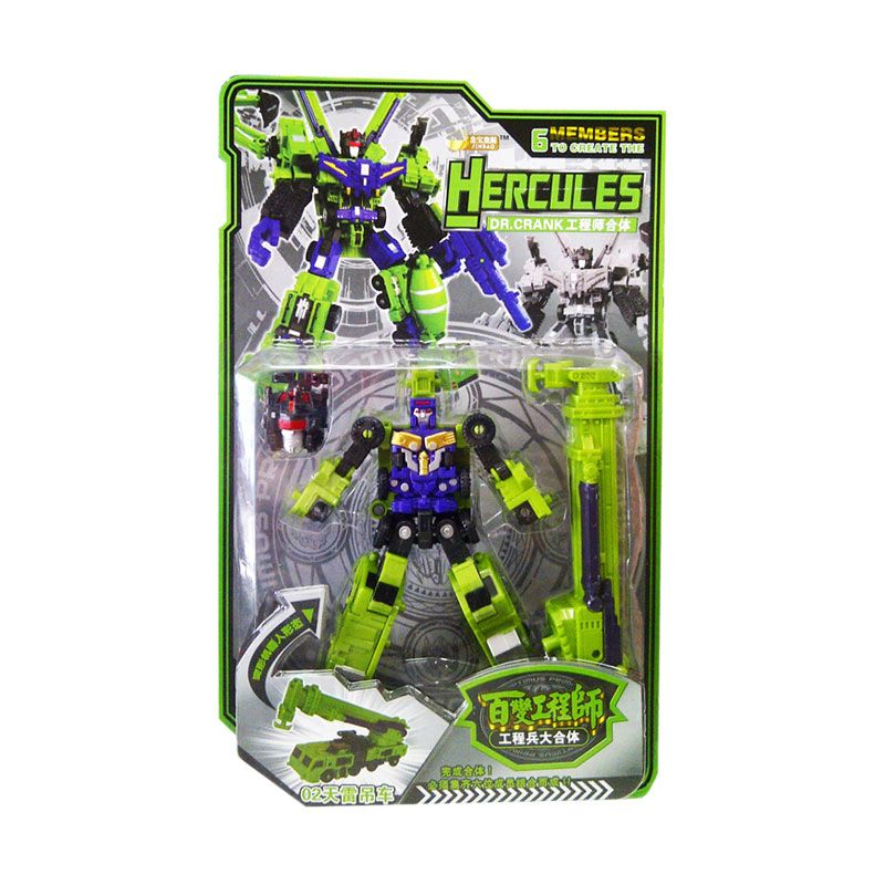 TMO Hercules 6 Model Hijau Action figure