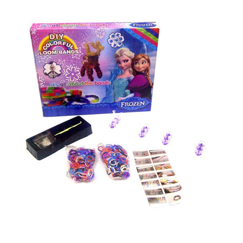 TMO Loom Band Frozen Mainan Anak