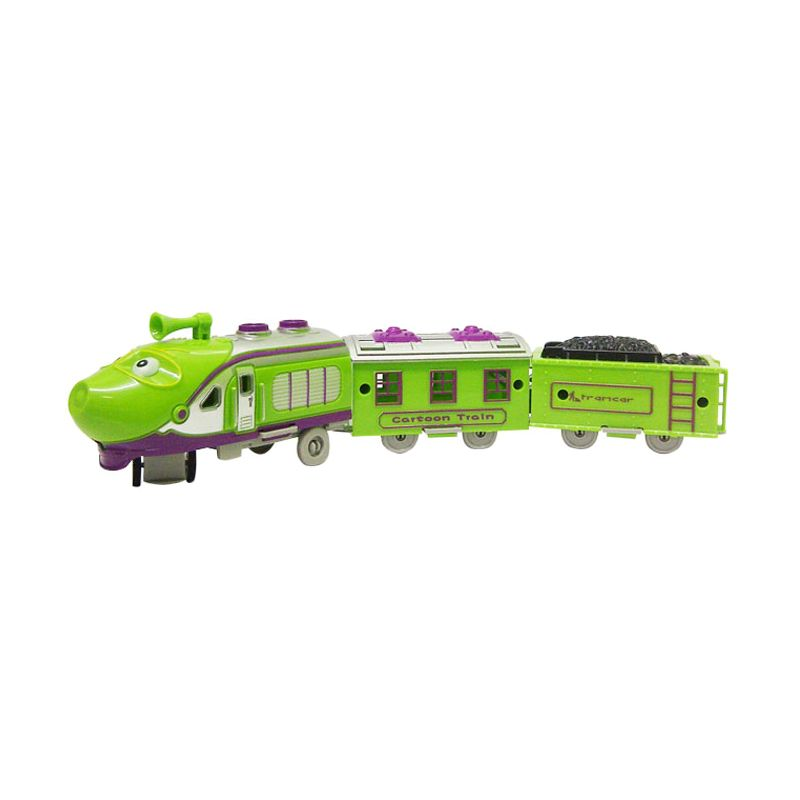 TMO Merry Train Chuggington Hijau Mainan Anak