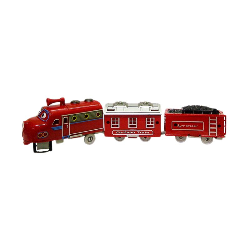 TMO Merry Train Chuggington Merah Mainan Anak