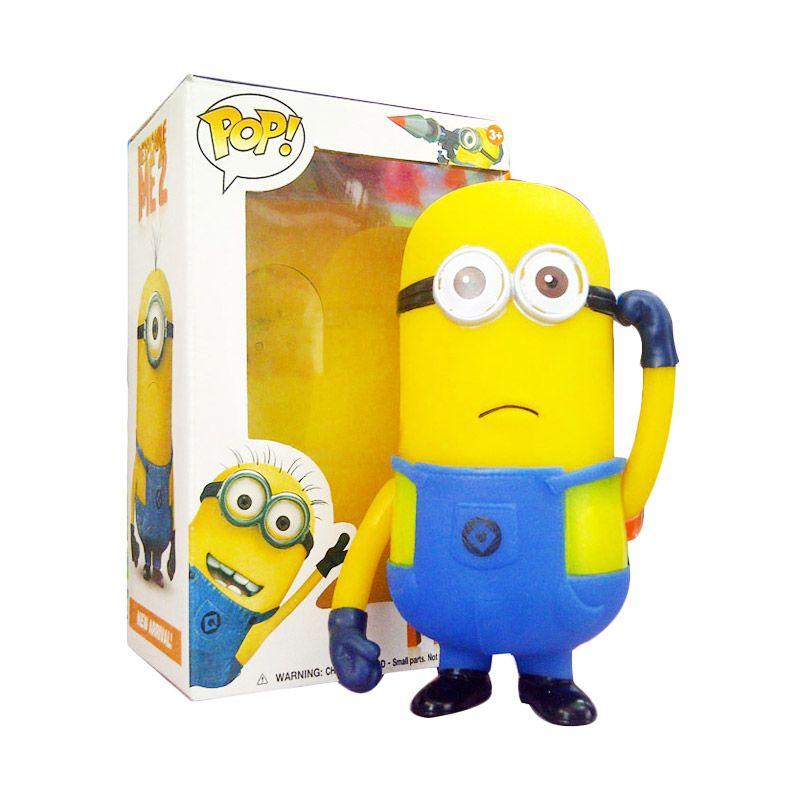 TMO Minion Dua Mata with Suara Kuning Biru Mainan Anak [1 Pcs]