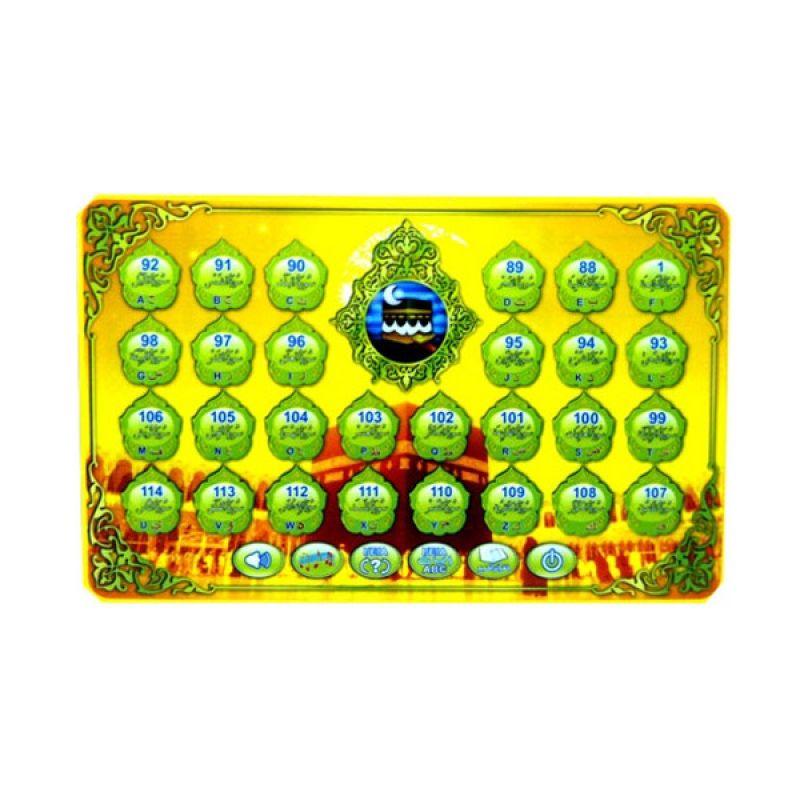 TMO Ipad Muslim Qt-0682 Kuning Mainan Anak [3 Bahasa]