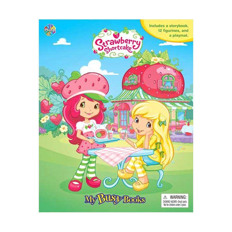 TMO My Busy Book Strawberry Shortcake Buku Cerita Anak