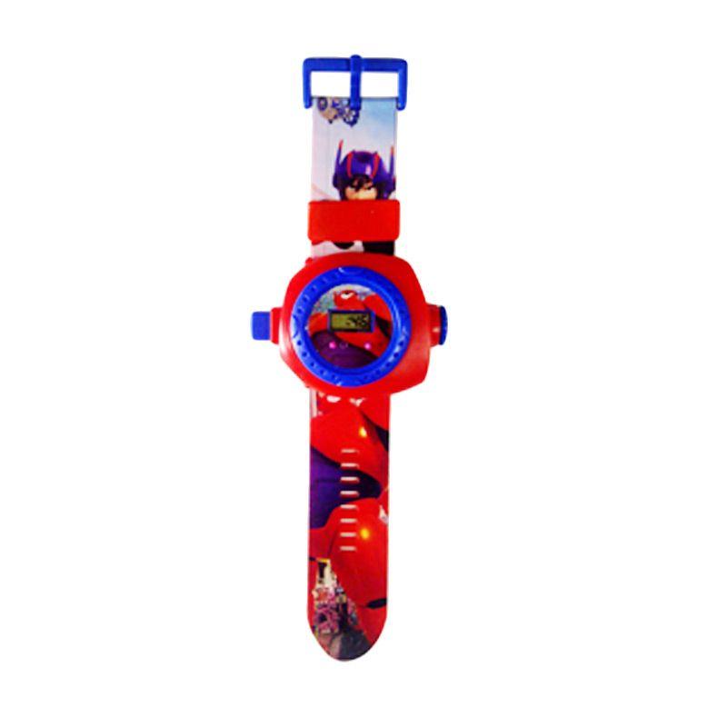 TMO Proyektor 24 Baymax Merah Jam Tangan Anak