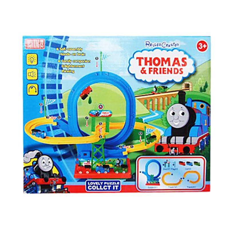 TMO Roller Coaster Thomas Biru Kuning Mainan Anak