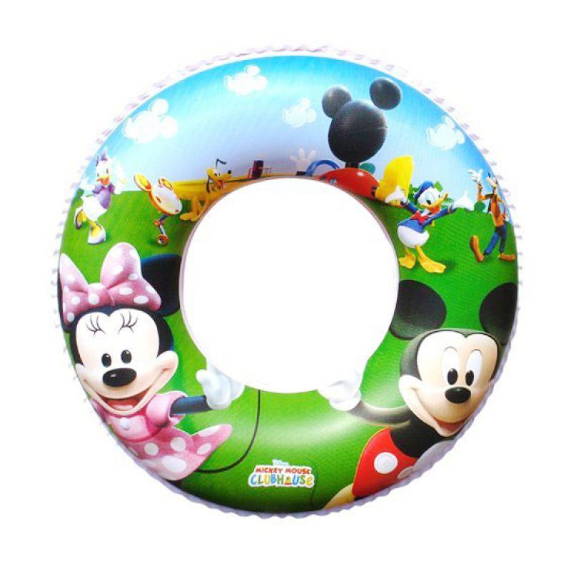 TMO Swim Ring Mickey Hijau Ban Renang Anak