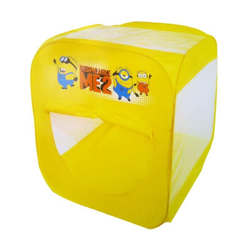 Tmo Tenda Minion Kuning Putih Mainan Anak