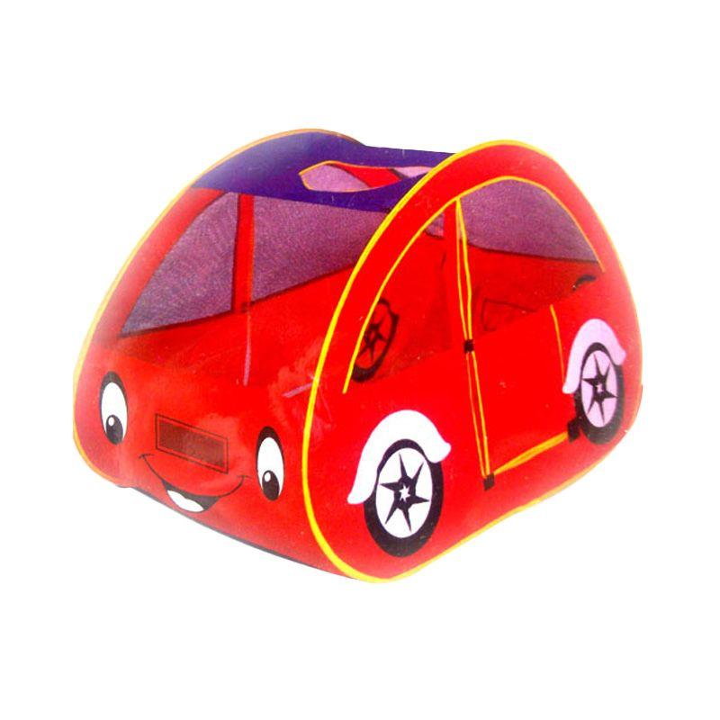 TMO Tenda Mobil Merah Mainan Anak