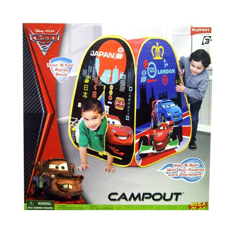 Tmo Tenda Segi Tiga Car Camp Out Mainan Anak