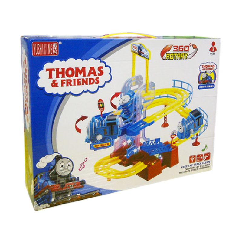 TMO Thomas & Freind 360 Power Biru Mainan Anak