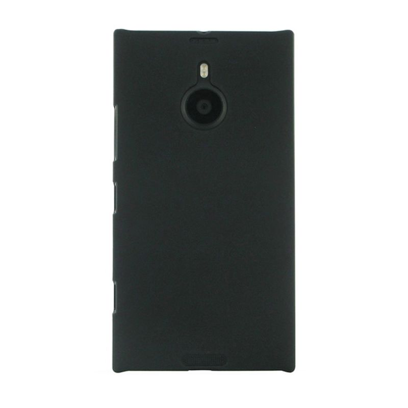 Rubberized Hardcase Hitam Casing for Nokia Lumia 1520