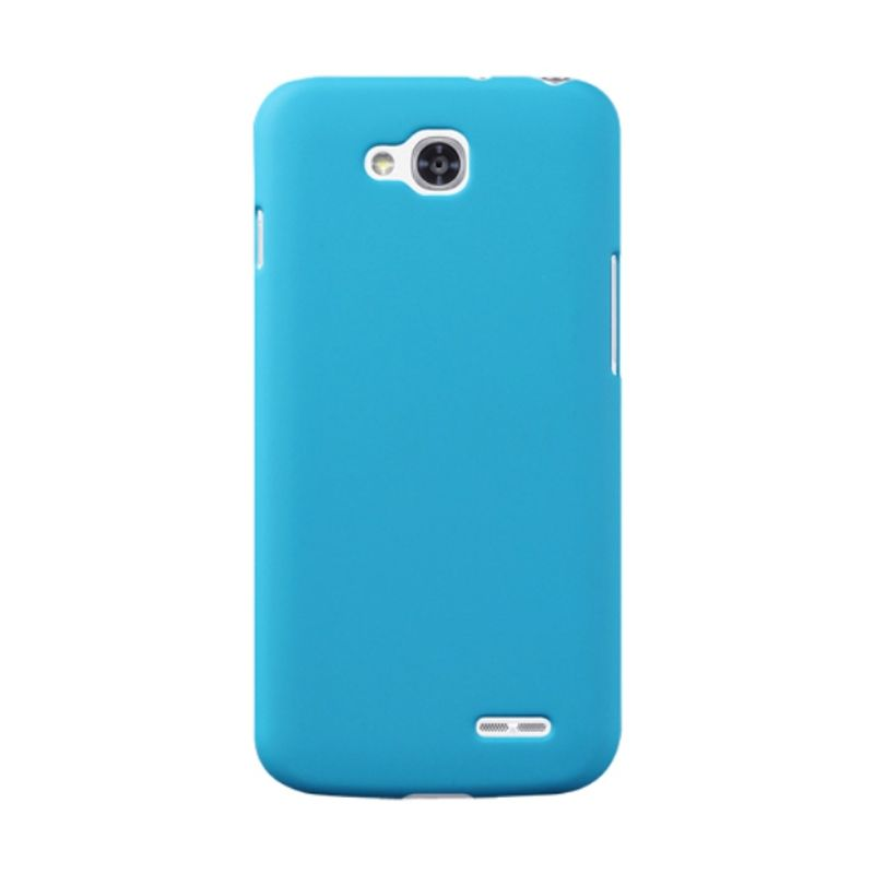 Rubberized Hardcase Sky Blue Casing for LG L90