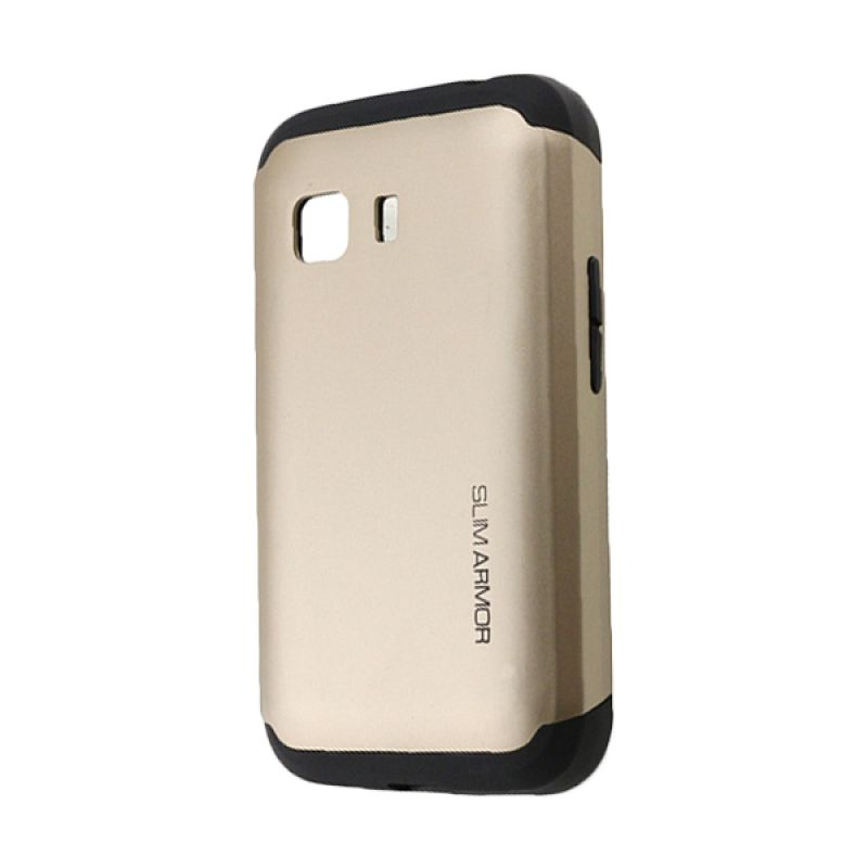 Spigen Slim Armor Gold Casing for Samsung Galaxy young 2