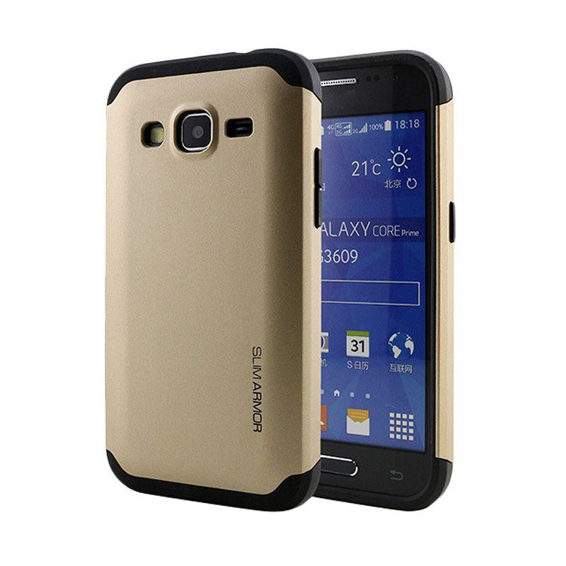 Spigen Slim Armor Gold Casing for Samsung Galaxy Core LTE G386F