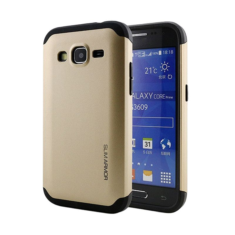 Spigen Slim Armor Gold Casing for Samsung Galaxy Core Prime G360