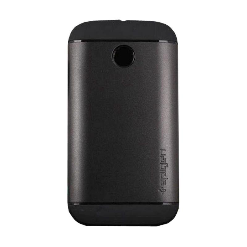 Spigen Slim Armor Hitam Casing for Motorola Moto E