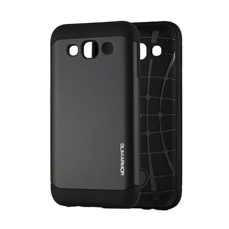 Spigen Slim Armor Hitam Casing for Samsung Galaxy E5