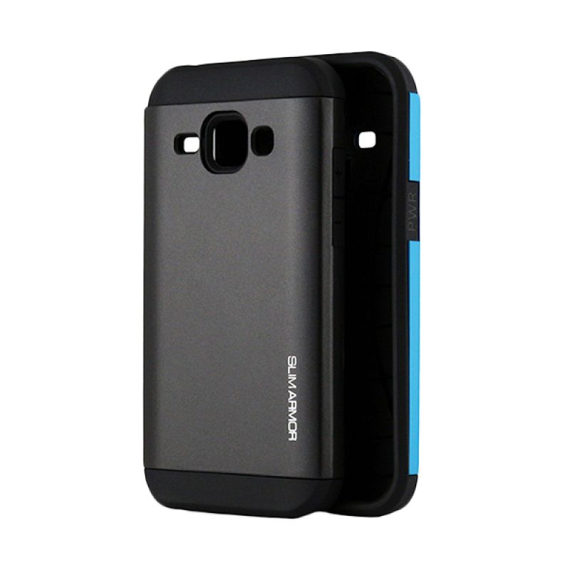 Spigen Slim Armor Hitam Casing for Samsung Galaxy J1