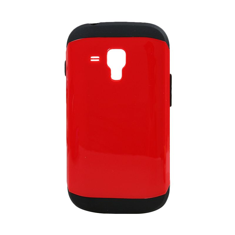 Spigen Slim Armor Merah Casing for Samsung Galaxy S Duos S7562