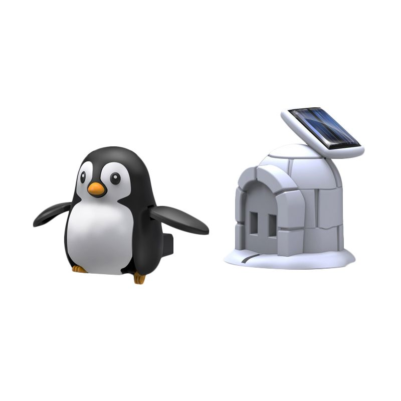 Solar Robot Pinguin Life Kit Mainan Anak