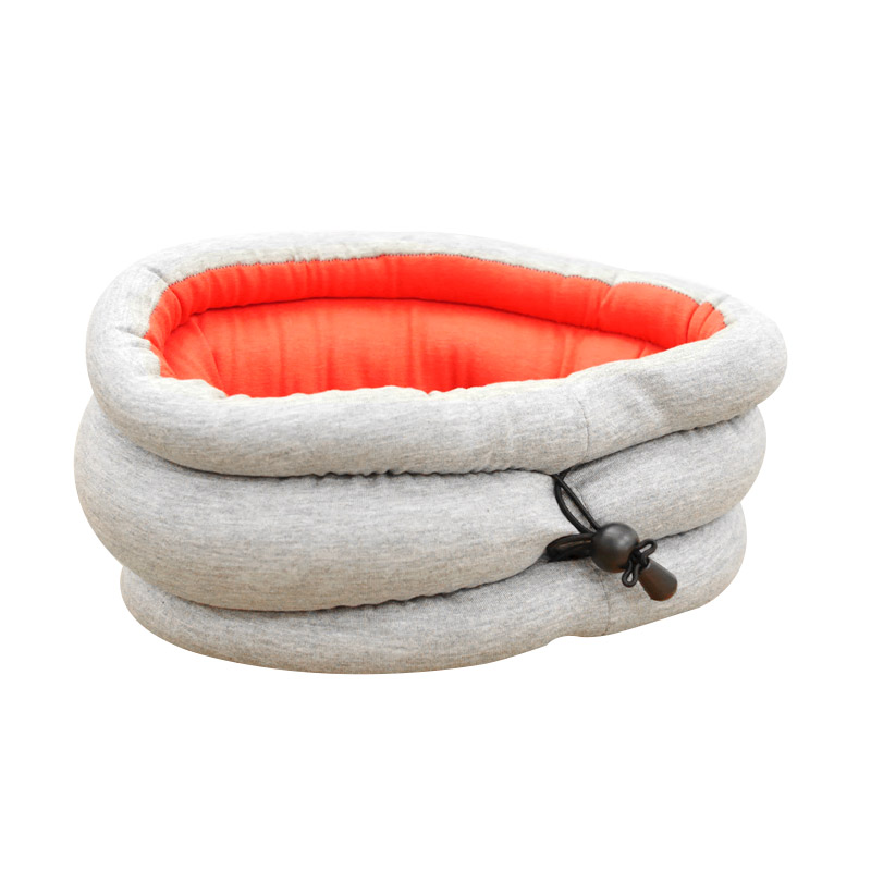 Tokokadounik Home Ostrich Magic Pillow Bantal Tidur - Red Grey