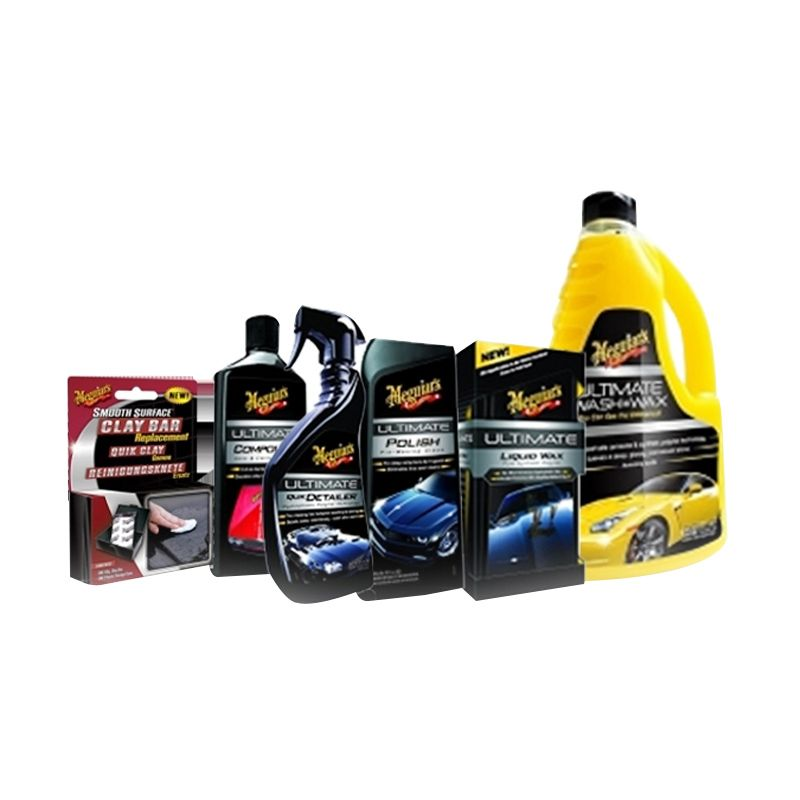 Meguiar's Car Crazy Cairan Pembersih [Package VI]