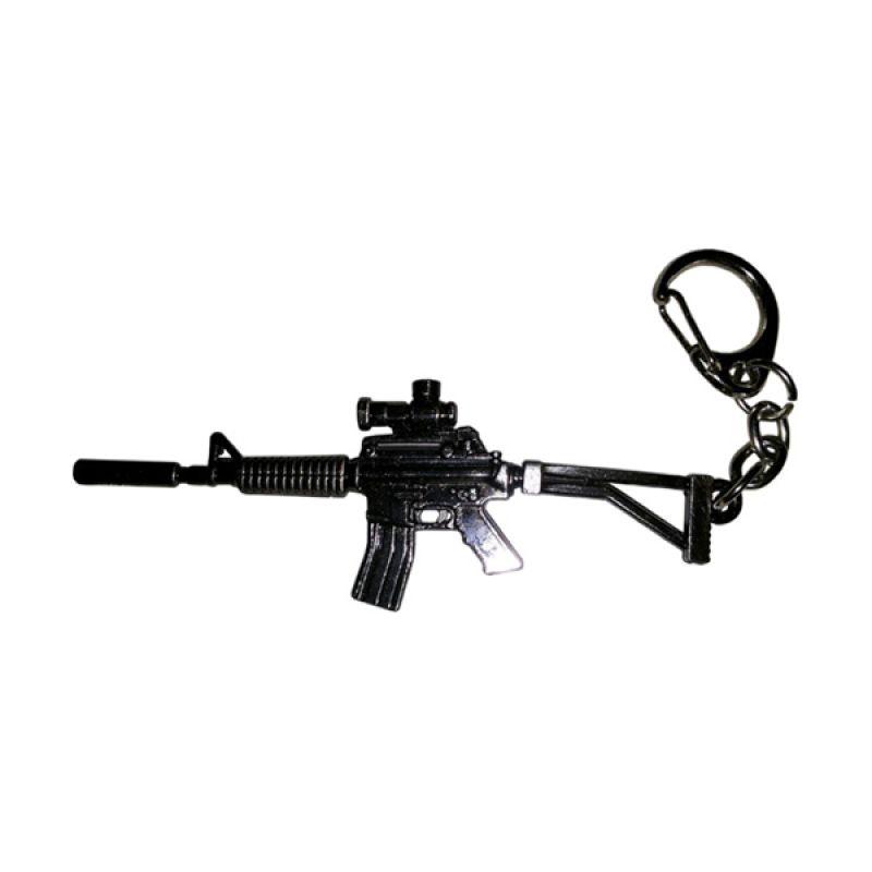 Fantasia Aksesoris Senapan AK47 Gantungan Kunci