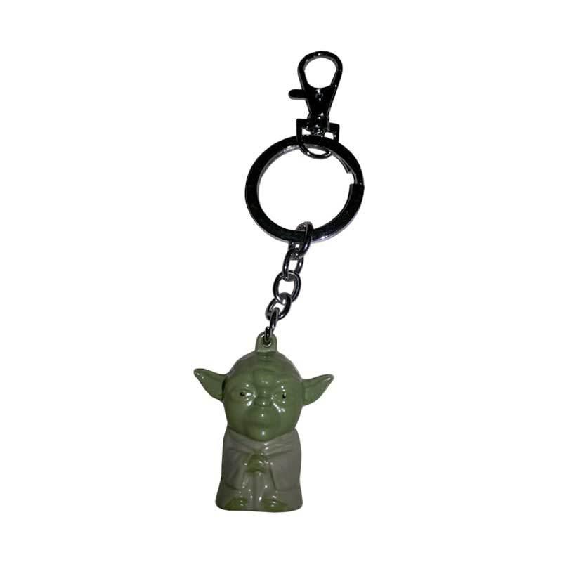 Fantasia Gantungan Kunci Master Yoda Hijau Action Figure