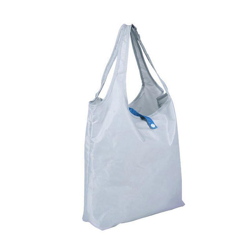 WeekEight Korean Foldable Jumbo Shooping Handbag Grey Tas Shopping Belanja Lipat