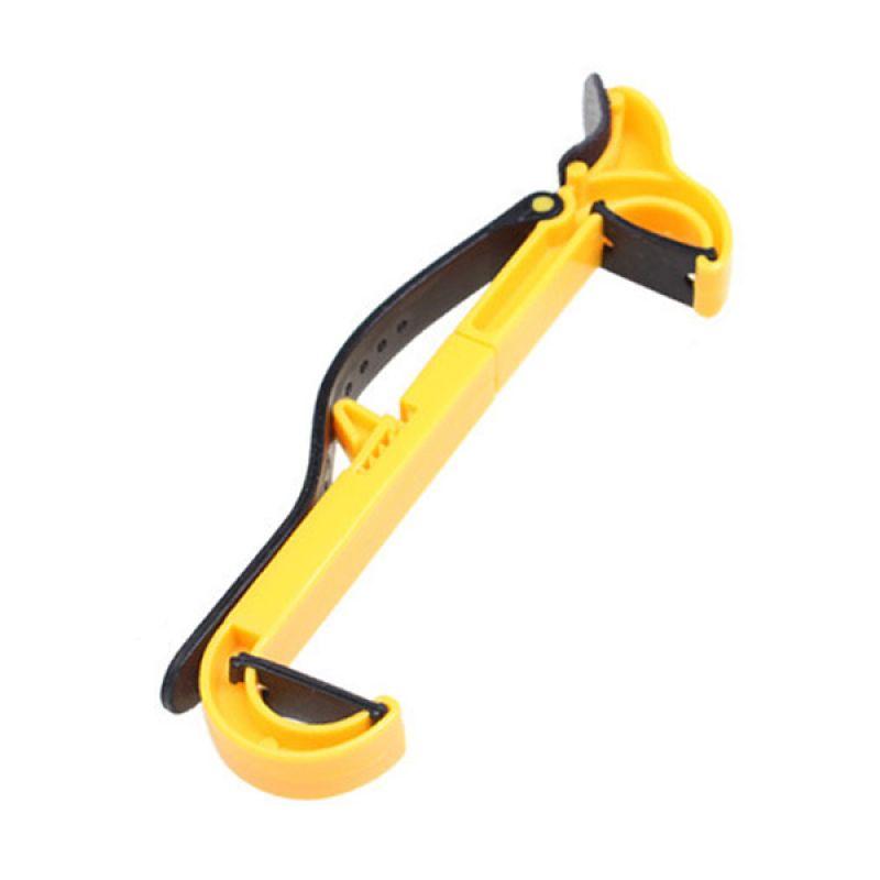 Generic Yellow Vertical Narrow Steering Wheel Smartphone Holder