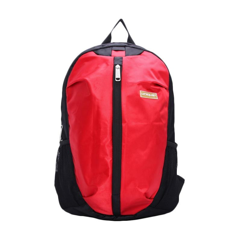 uNiQue Laptop Backpack i-Protect Merah