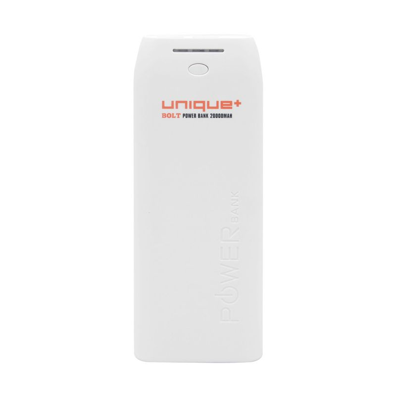 uNiQue Powerbank 20000mAh Bolt Putih