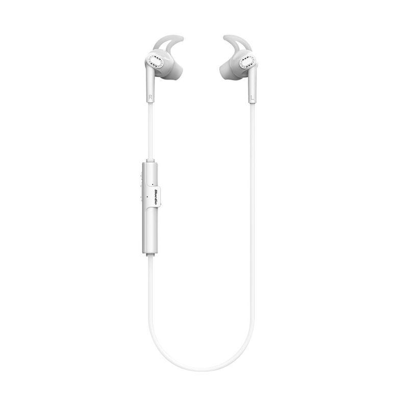 Bluedio M3 Bluetooth Putih Earphone