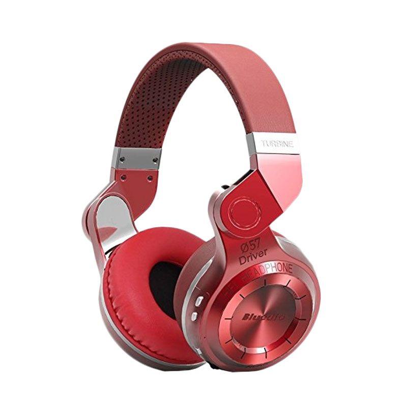 Bluedio T2 Merah Bluetooth Headset