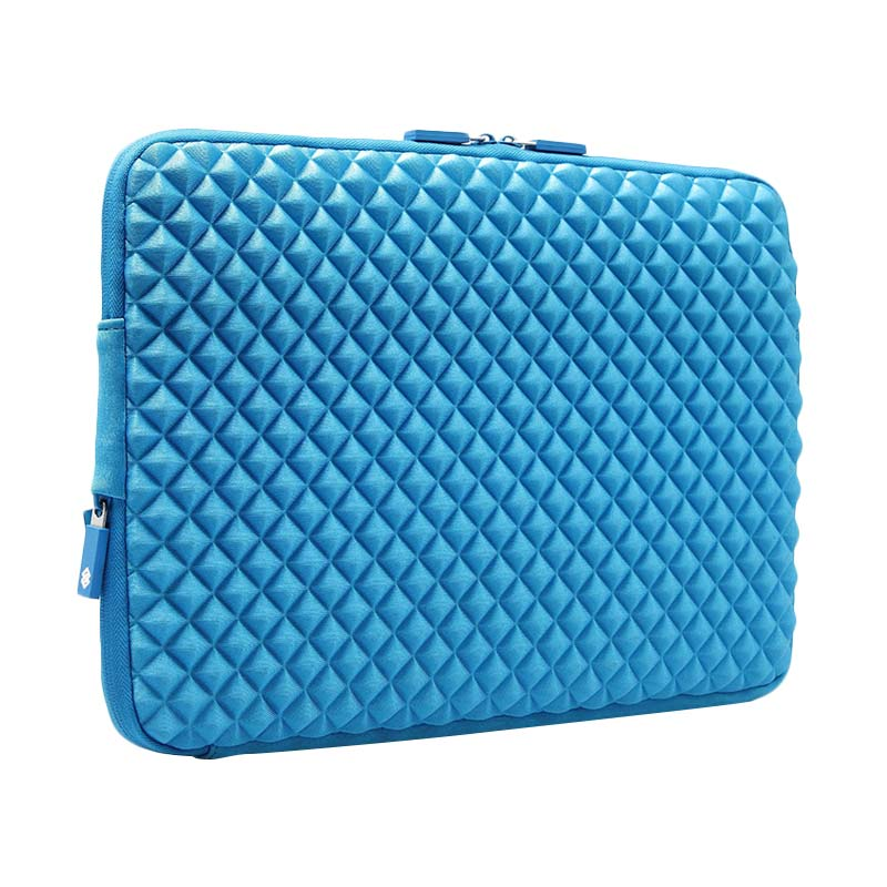Gearmax Premium GM1703 Original Diamond Lycra Fabric Sleeve Case Bag for Notebook/Tablet/Macbook/Surface/iPad - Blue [13.3 Inch]
