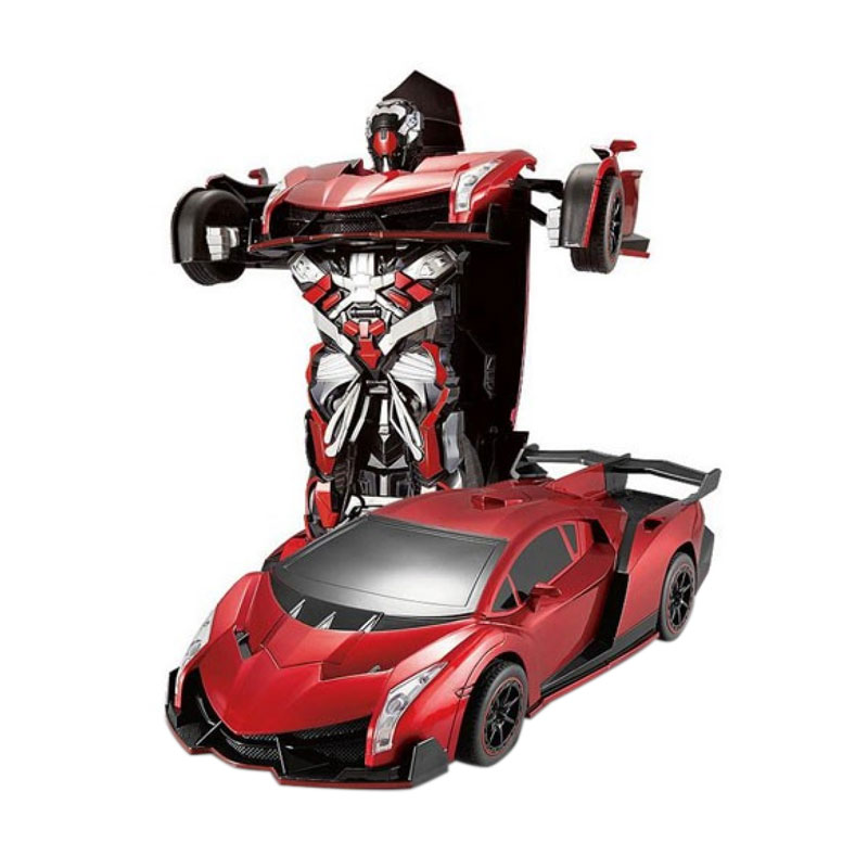 harga TOKUNIKU RC Radio Remote Control Transformer Vehicle Car Deform Robot - TT667 Blibli.com