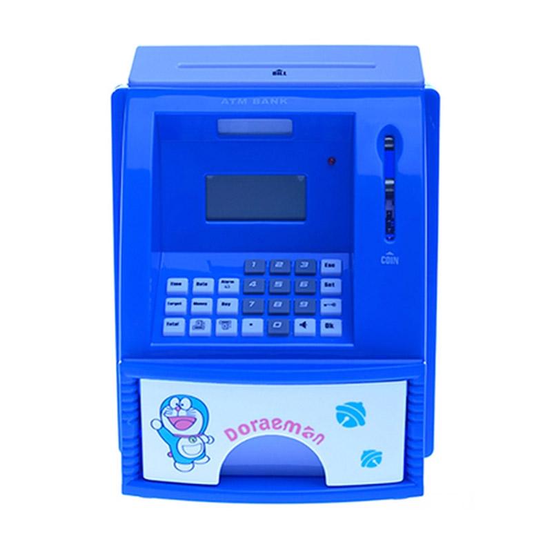 harga TOKUNIKU Celengan ATM Mini Character Doraemon Mainan Anak Blibli.com