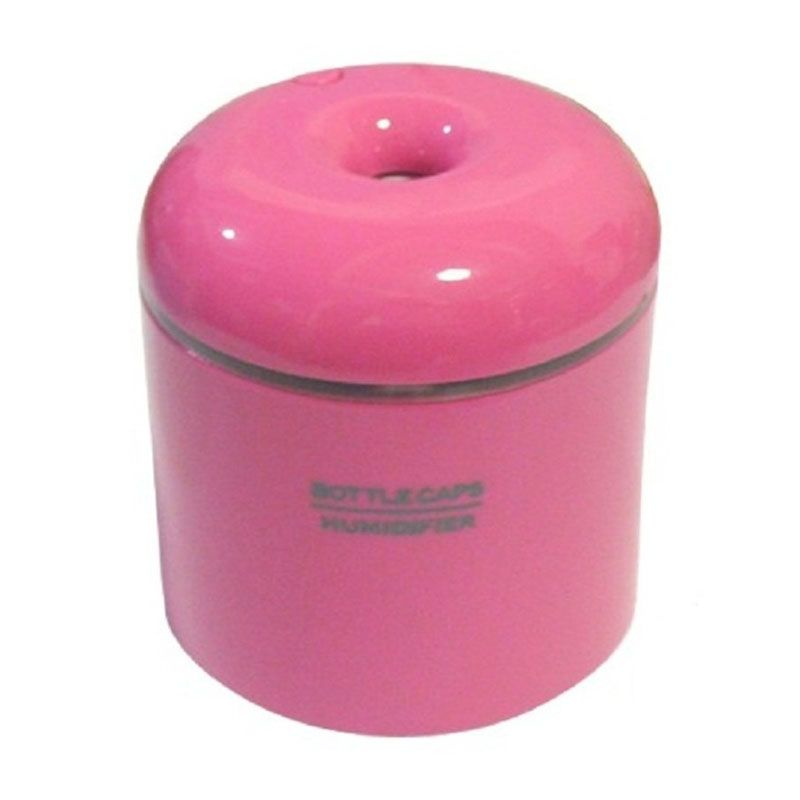 TOKUNIKU USB Bottle Caps Pink Humidifier