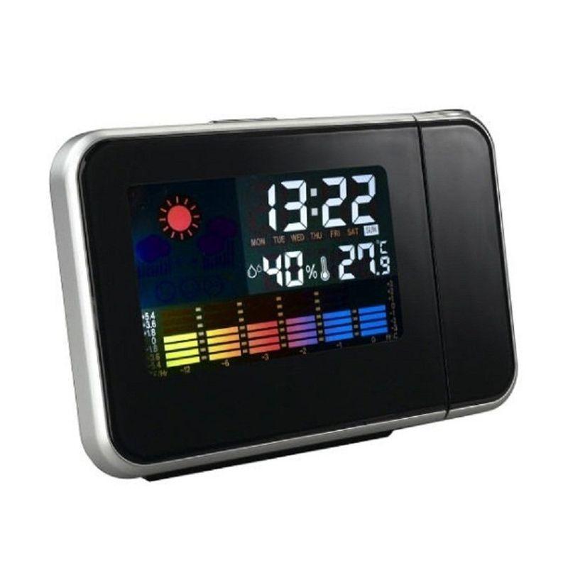 harga Tokuniku Weather Station Projection Hitam Jam Blibli.com