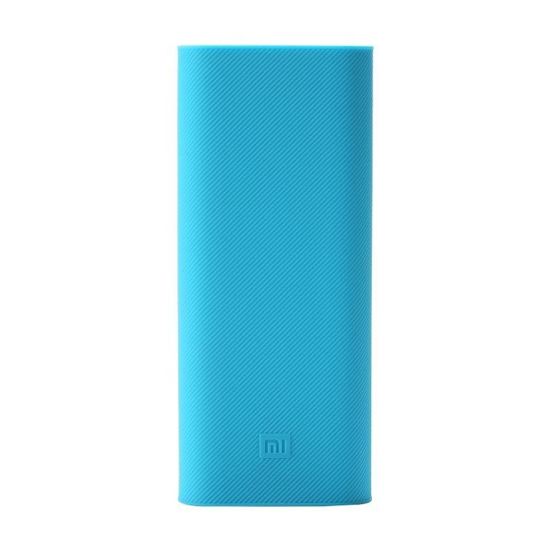 Xiaomi Biru Silicon Casing for Xiaomi Powerbank 16000 mAh