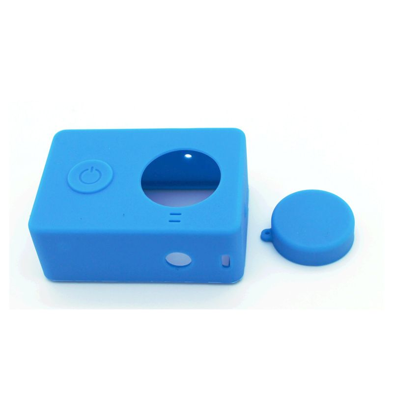 Xiaomi Silicon Biru Casing for Camera Xiaomi Yi