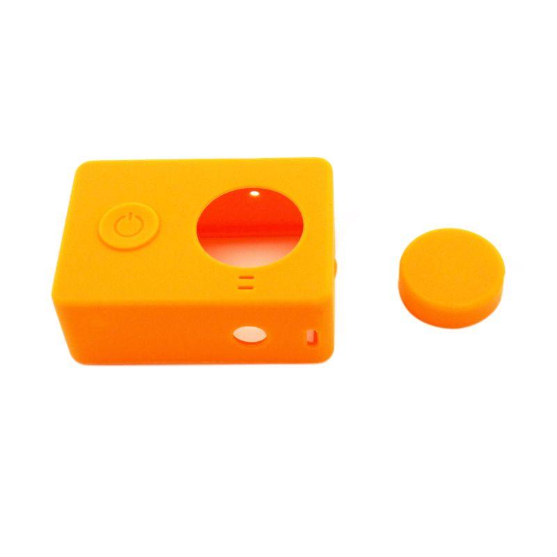 Xiaomi Silicon Orange Casing for Camera Xiaomi Yi
